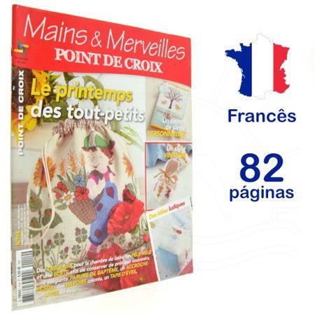 Revista Mains & Merveilles Point de Croix Nº 114