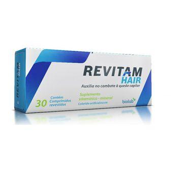 Revitam Hair Biolab 30 Comprimidos Revestidos