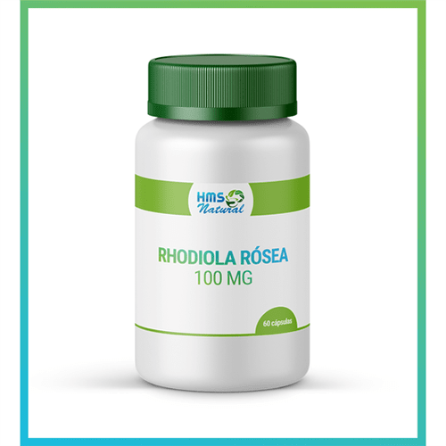 Rhodiola Rósea 100mg Cápsulas Vegan 60cápsulas