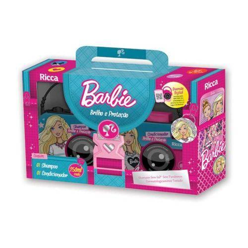 Ricca Barbie Brilho e Proteção Shampoo + Condicionador 250ml