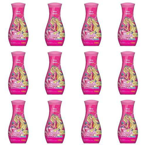 Ricca Barbie Reinos Mágicos Shampoo 250ml (kit C/12)