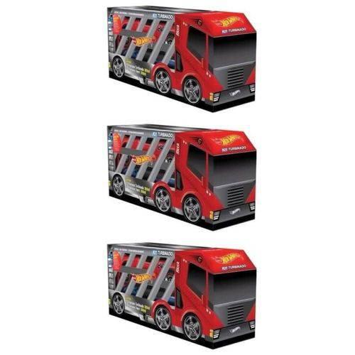 Ricca Hot Wheels 2em1 Turbinado Shampoo 2x300ml (kit C/03)