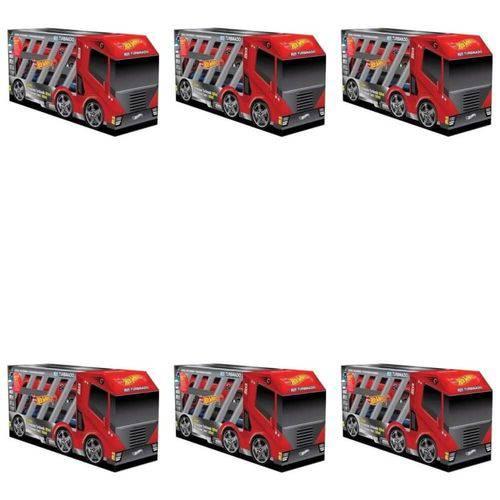 Ricca Hot Wheels 2em1 Turbinado Shampoo 2x300ml (kit C/06)