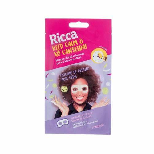 Ricca Máscara Facial Relaxante P/ Olhos C/1