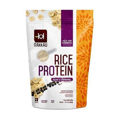 Rice Protein Açaí com Banana 600g - Rakkau