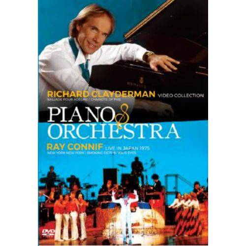 Richard Clayderman Video Collection Piano & Orchestra Ray Conniff Live In Japan 1975 - DVD
