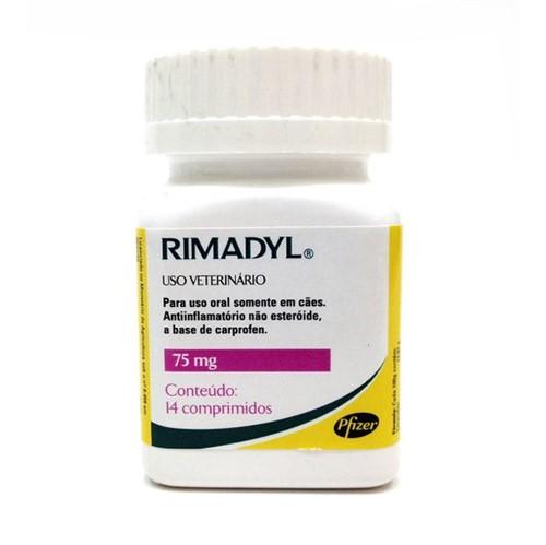 Rimadyl 75mg - 14 Comprimidos