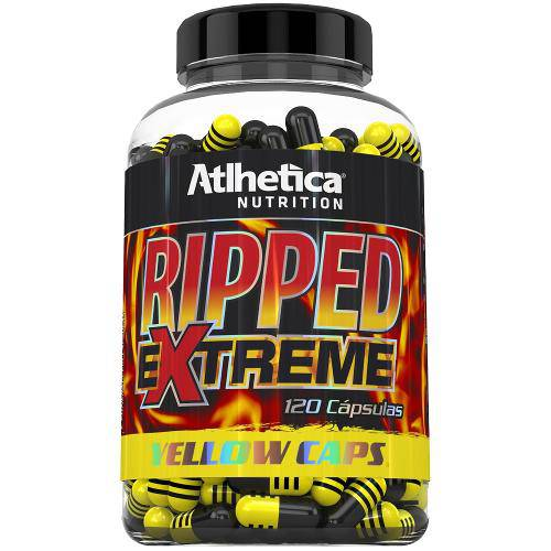 Ripped Extreme Yellow Caps (120 Capsulas) - Atlhetica Nutrition
