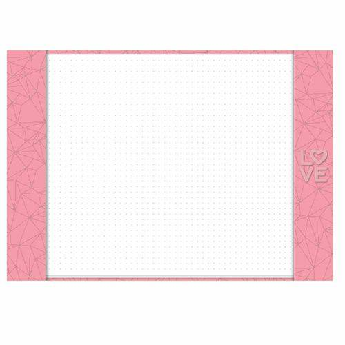 Risque Rabisque A4 Pink Stone Geométrico Ótima