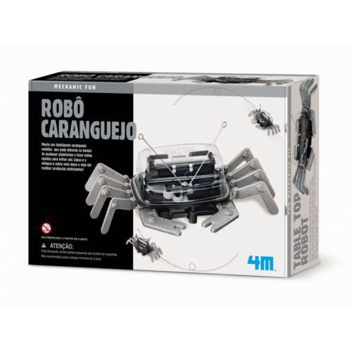 Robô Caranguejo - 4m - Brinquedo Educativo