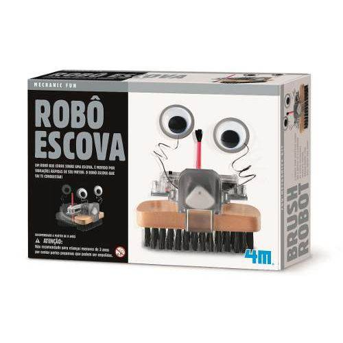 Robô Escova 4m Brinquedo Educativo