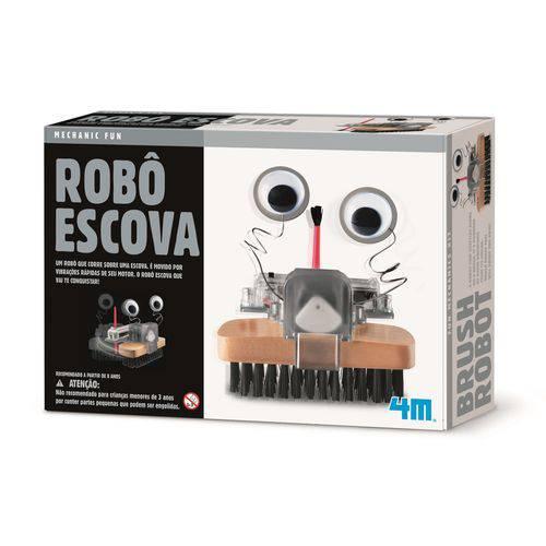 Robô Escova - 4M - Brinquedo Educativo