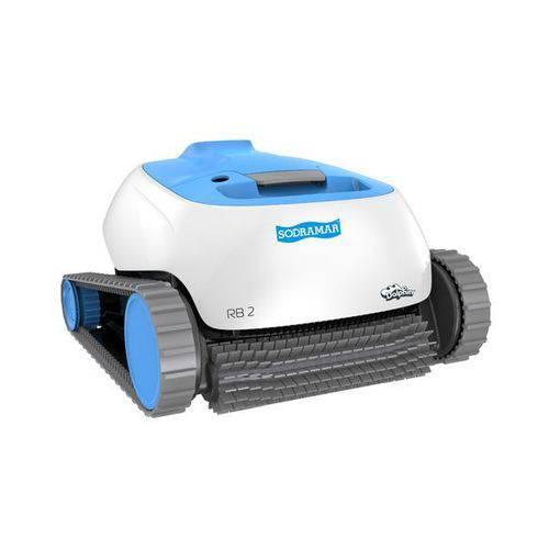 Robô Rb2 Sodramar para Limpeza de Piscinas de Até 12m