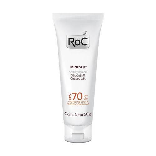 Roc Minesol Antioxidante Gel Creme Fps70 - 50g