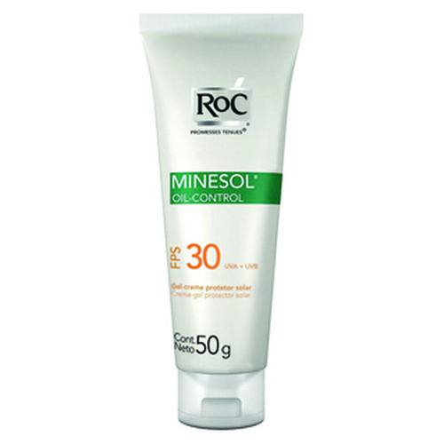 Roc Minesol Oil Control Fps30 50 Gramas