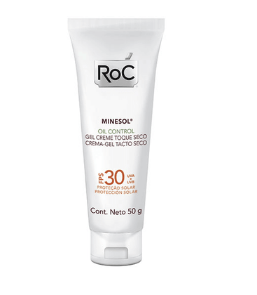 Roc Minesol Oil Control Protetor Solar FPS 30 50g