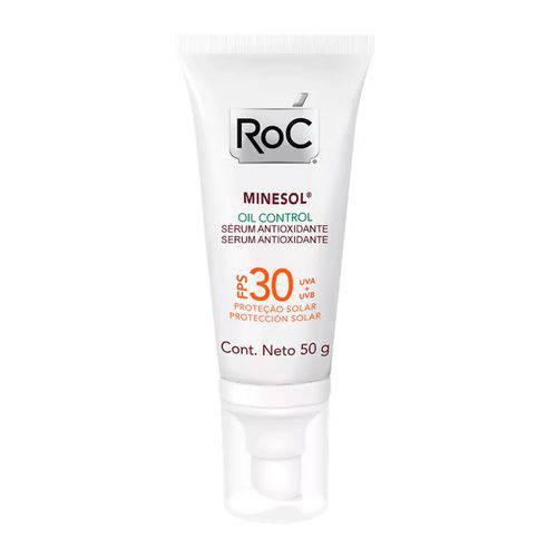 Roc Minesol Oil Control Serum Protetor Solar Fps 30