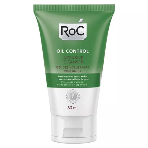 Roc Oil Control Intensive Cleanser Gel de Limpeza Facial 60ml