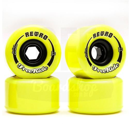 Roda ABEC 11 Retro Freeride 72mm 83A