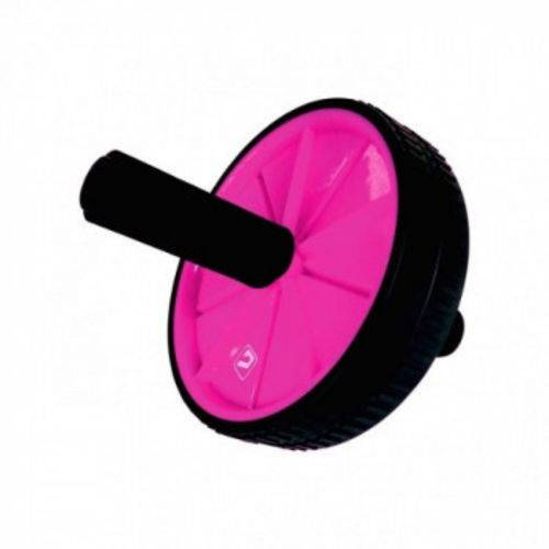 Roda de Exercicio Rosa - Liveup