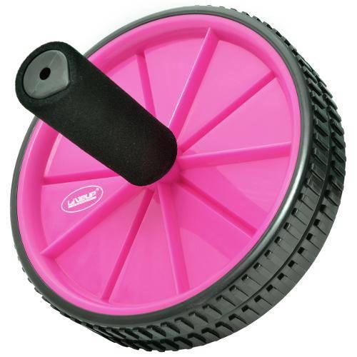 Roda de Exercícios Exercise Wheels Rosa - Liveup Ls3160r