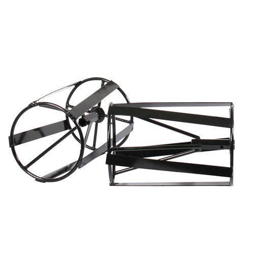 Rodas de Capinar para Motocultivador Kawashima MCG 780/580 Preto