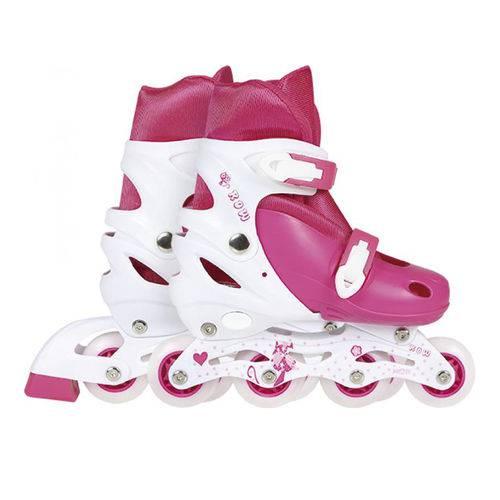 Roller Infantil 35-38 Rosa 40600123 - Mor