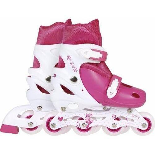 Roller Infantil Tamanho M (35 ao 38) Regulável Mor - Rosa
