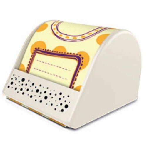 Rolo de Notas Adesivas Basic Quadro Amarelo Ótima 1025978