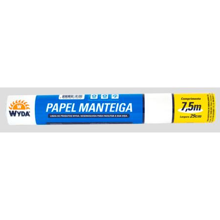 Rolo de Papel Manteiga 29cm - 7,5 Metros