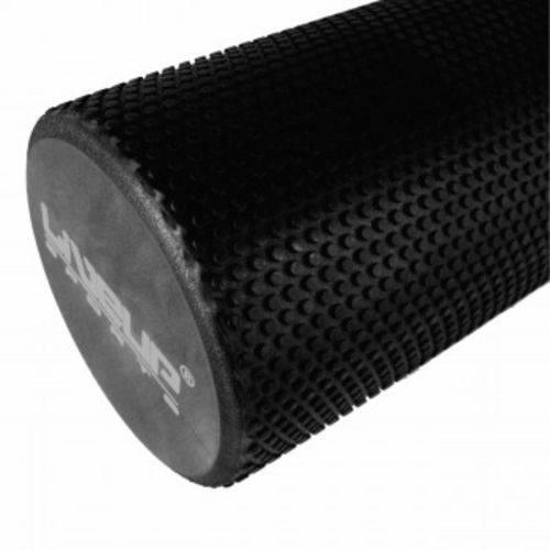 Rolo em Eva 45 X 15 Cm Texturizado para Pilates e Massagem Miofascial Preto Liveup