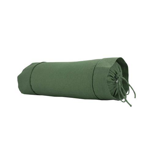 Rolo para Cama Lino Vert com Recheio