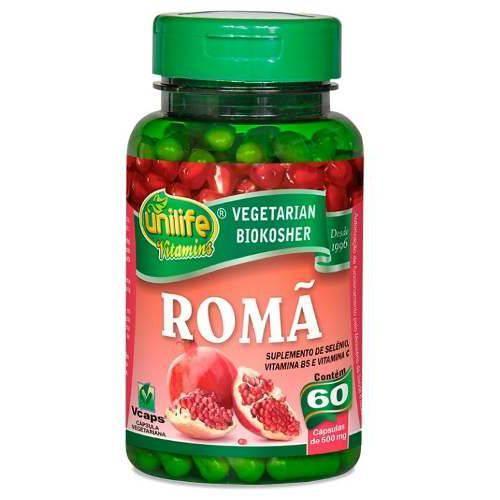 Romã - Unilife - 60 Cápsulas de 500mg