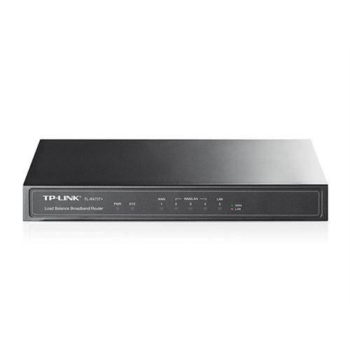 Roteador Load Balance Tp-Link - 4 Portas Wan (Redundante) - Tl-R480t+