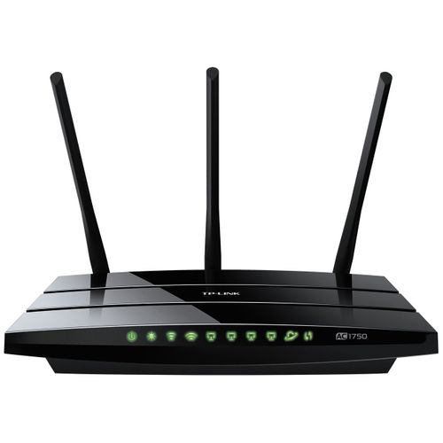 Roteador Sem Fio TP-Link Archer C7 AC1750 Wireless Dual Band Gigabit Router | 6 Antenas, 1 WAN, 4 LAN, 2 USB | Wireless IEEE 802.11ac/n/a 5GHz 1307