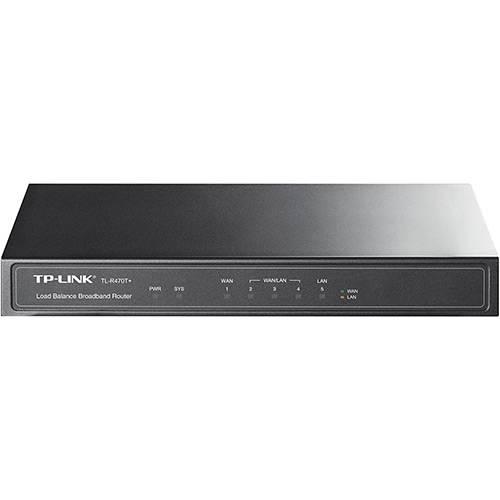 Roteador TP-Link Load Balance 10/100Mbps TL-R470T+ - TP-Link