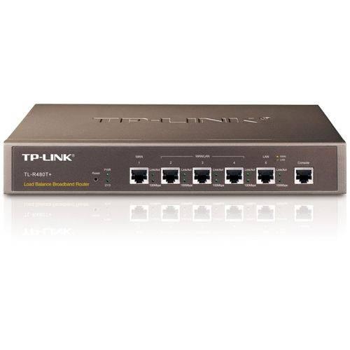 Roteador Tp-link Load Balance 4 Portas Tl-r480t+