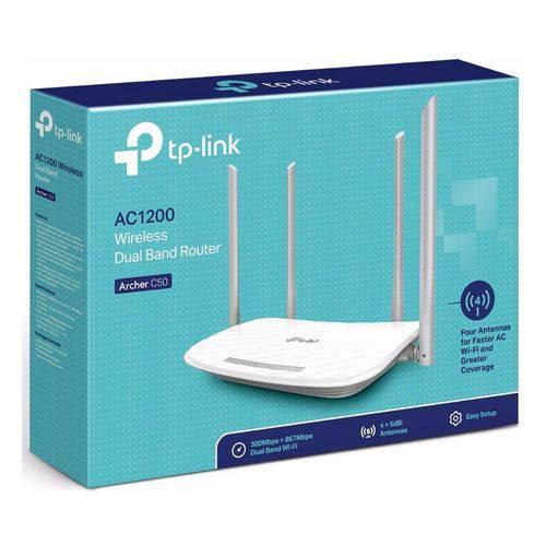 Roteador Tp-link Wi-Fi Ac 1200mbps (archer C50 V4)