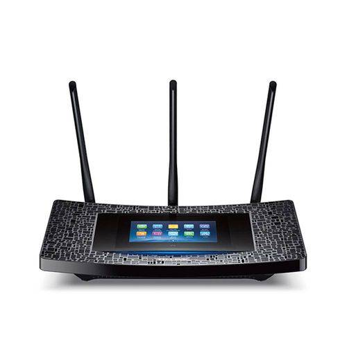 Roteador TPLINK Wi-Fi Gigabit Touch Screen AC1900 Touch P5 - PN Touch P5