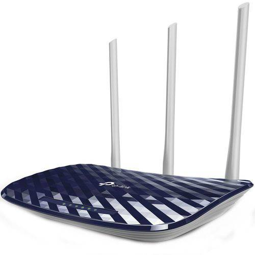 Roteador Wireless Dual Band 3 Antenas 5dBi AC750 C20 Wi-Fi TP-Link