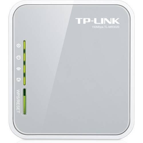 Roteador Wireless 3g/4g - Tp-Link - Branco/Cinza - Tl-Mr3020