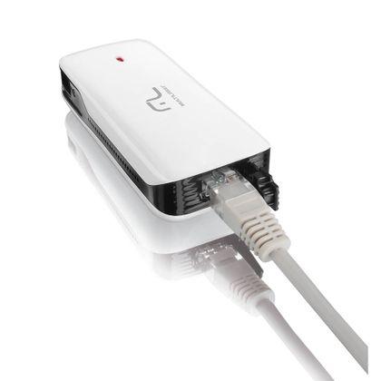 Roteador Wireless Multilaser 3G Portátil 150Mbps com Power Bank USB Carregador - RE076 RE076
