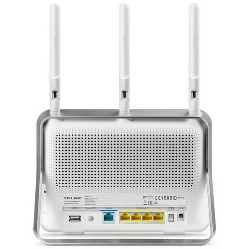 Roteador Wireless - Tp-Link Dual-Band Ac1750 - Branco - Archer C8