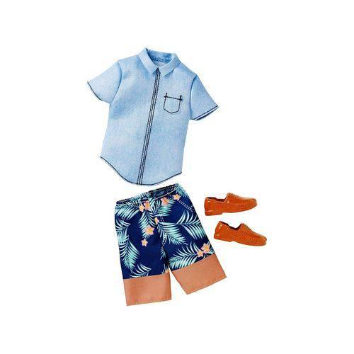 Roupa Ken FAB Camisa Jeans CFY02 - Mattel