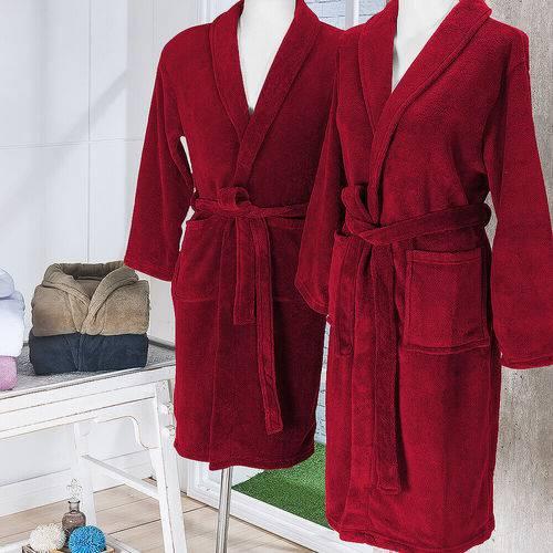 Roupão de Banho em Microfibra Fleece Gg - Andreza