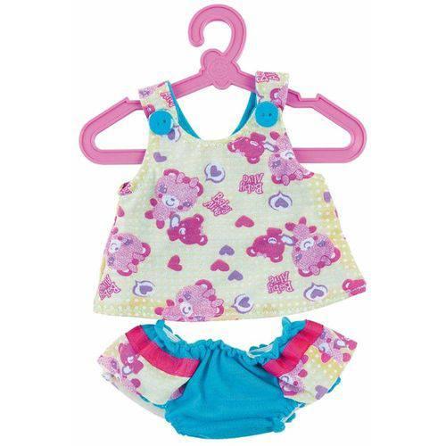 Roupinhas Boneca Baby Alive Dupla Face - Blusa e Calcinha - Cotiplas 2110