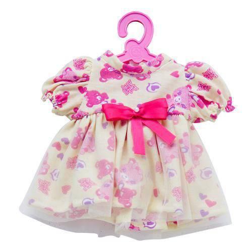 Roupinhas Oficiais Baby Alive Vestido Ursinho Amarelo Cotiplás Ref. 2115
