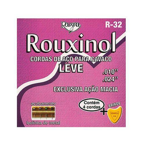 Rouxinol - Cordas para Cavaquinho Leve com Bolinha R32