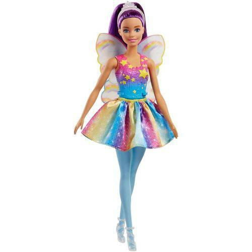 Roxo Boneca Fada Barbie - Mattel FJC85