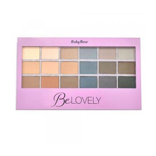 Ruby Rose Be Lovely Kit de Sombras Hb-9932